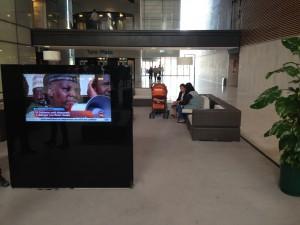 Cartelería digital en hospitales